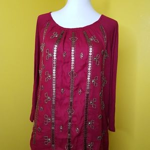 LUCKY BAND WOMEN'S TOP SIZE S